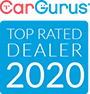 CarGurus 2018 Top Rated Dealer